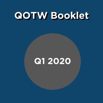 QOTW Booklet box- Q1 2020